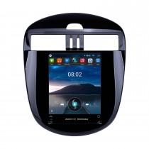2011-2015 Nissan Tiida 9,7-дюймовый Android 10.0 GPS-навигатор с сенсорным экраном HD Поддержка Bluetooth WIFI Задняя камера Carplay
