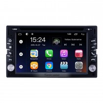 6,2-дюймовый Android 9.0 для универсальной радионавигационной системы GPS с сенсорным экраном HD Поддержка Bluetooth Carplay Mirror Link