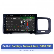 HD-сенсорный экран 9-дюймовый Android 10.0 GPS-навигатор Радио на 2011 2012 2013 2014 2015 Volvo S60 с поддержкой Bluetooth AUX WIFI Carplay TPMS DAB + OBD2
