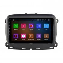 9-дюймовый сенсорный экран HD для стереосистемы FIAT 500 2015+ с поддержкой автомобильного радио Bluetooth Изогнутый сенсорный экран 2.5D