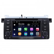 7-дюймовый Android 9.0 In Dash Radio для 2000-2006 BMW 3 серии M3 E46 316i Rover 75 MG ZT GPS-навигация Автомобильный DVD-плеер Аудиосистема Bluetooth Радио Музыка Поддержка Mirror Link 3G WiFi DAB +