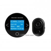 Высококачественный звук Цифровой аудиоприемник Автомобильный комплект DAB + с функцией RDS Интерфейс USB Всенаправленная антенна