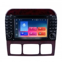 1998-2005 Mercedes Benz S Class W220 S280 S320 S400 Android 9.0 DVD GPS / V-System автомобилей с 4G Wi-Fi Радио RDS блютуз Зеркало Ссылка OBD2 HD 1024 * 600 сенсорный экран