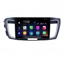 10,1-дюймовый Android 10.0 HD с сенсорным экраном GPS-навигатор для 2013 Honda Accord 9 Low версия с поддержкой Bluetooth USB WIFI Carplay OBD