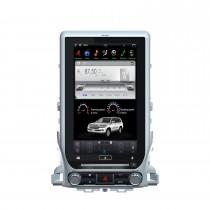 13,3-дюймовый GPS-навигатор для TOYOTA LAND CRUISER LC200 2016-2021 Автомобильное радио Android 9.0 с сенсорным экраном HD Bluetooth USB Поддержка WIFI DAB + камера заднего вида