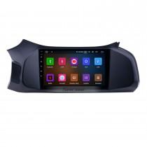 2012-2019 Chevy Chevrolet Onix Android 11.0 9-дюймовый GPS-навигация Радио Bluetooth HD с сенсорным экраном Поддержка Carplay OBD2 TPMS