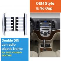 178 * 100 мм 2Din 2007 HYUNDAI SANTAFE Автомобильный радиоприемник Панельный адаптер DVD-плеер Автоматическая установка стереофонической установки