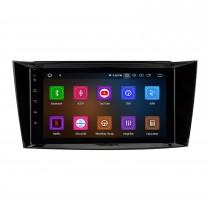 8-дюймовый Android 11.0 Радио IPS Полноэкранный GPS-навигатор Автомобильный мультимедийный плеер для 2005-2006 Mercedes Benz CLK W209 с RDS 3G WiFi Bluetooth Зеркальное соединение OBD2 Управление рулевого колеса