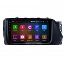 2017 Hyundai VERNA 9-дюймовый Android 11.0 Bluetooth-радио с GPS-навигацией Wifi Mirror Link USB Поддержка рулевого колеса Беспроводная камера заднего вида OBD2 DAB + DVR