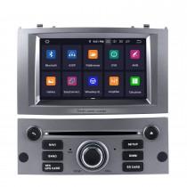 OEM Android 9.0 Радио GPS Навигационная система для 2004-2010 Peugeot 407 с резервной камерой Wi-Fi Bluetooth Зеркальная связь Управление рулем OBD2 DAB + DVR AUX