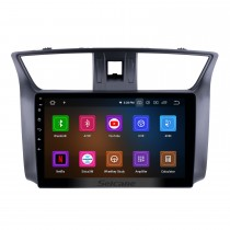 10,1 дюймов 2012-2016 Nissan Slyphy Android 11.0 GPS навигационная система Авторадио MP3 4G Wi-Fi USB 1080P Видео Авто A / V Резервное копирование камеры Зеркало Ссылка