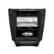 10,4-дюймовый автомобильный стерео спутниковый мультимедийный плеер Android 9.0 для 2005-2015 гг. Lexus IS GPS-навигационная система с поддержкой Bluetooth Carplay
