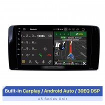 10,1-дюймовый сенсорный экран HD для 2006-2013 Mercedes Benz R Class GPS Navi Car Audio с GPS Автомобильная аудиосистема Поддержка AHD камеры