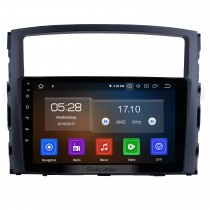 9-дюймовый 2006-2017 MITSUBISHI PAJERO V97 / V93 HD Сенсорный экран GPS-навигация Система Android 10.0 Поддержка радио Bluetooth OBDII Задняя камера AUX Управление на рулевом колесе USB 1080P Зеркальное соединение 3G / 4G WiFi TPMS DVR USB