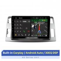 10,1-дюймовая автомобильная стереосистема для 2006 Toyota Previa Estima Tarago LHD с Carplay / Android Auto RDS DSP Поддержка GPS-навигации Bluetooth