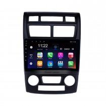 2007-2017 KIA Sportage Auto A / C Android 10.0 Bluetooth Радио GPS Навигационная система с поддержкой WI-FI AUX FM и поддержкой USB через USB.