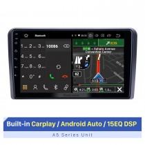 9-дюймовый сенсорный экран HD для автомобильной стереосистемы Audi A3 2008-2012 с автомобильным радиоприемником Bluetooth с поддержкой нескольких языков OSD