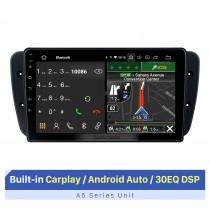 9-дюймовый сенсорный экран HD для 2008-2015 Seat Ibiza Авто Стерео Автомобильная Аудиосистема Carplay Стереосистема 1080P Видеоплеер