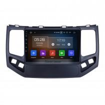 Android 11.0 для 2009 2010 Geely King Kong Radio 9-дюймовая система GPS-навигации с сенсорным экраном HD Carplay Поддержка Bluetooth Цифровое телевидение