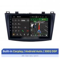 9-дюймовый сенсорный экран HD для 2009-2012 Mazda 3 Axela GPS-навигационная система Автомобильная стереосистема Автомобильная аудиосистема с поддержкой GPS DVR