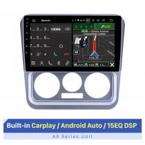9-дюймовый сенсорный HD-экран для автомобилей Geely Ziyoujian Stereo Car Stereo 2009-2013 с Bluetooth Android Auto Поддержка нескольких языков OSD