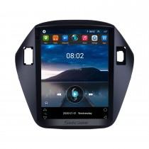 2010 2011 2012 2013 2014 2015 Hyundai IX35 HD Сенсорный экран 9,7-дюймовый Android 9.1 Автомобильная стереосистема GPS-навигация Радио Bluetooth-телефон Музыка Поддержка Wi-Fi DVR OBD2 Камера заднего вида SWC DVD 4G