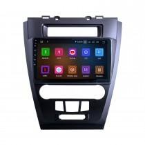 10,1-дюймовый Android 11.0 Radio для 2009-2012 Ford Mondeo / Fusion Bluetooth с сенсорным экраном GPS-навигация Carplay Поддержка USB TPMS Управление рулевого колеса