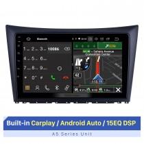 9-дюймовый сенсорный экран HD для 2011-2014 Dongfeng H30 Stereo Android Автомобильная GPS-навигация Автомобильная аудиосистема Поддержка разделенного экрана