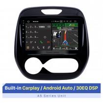 9-дюймовый сенсорный экран HD для Renault Captur 2011-2016 с ручным управлением A / C Авторадио Carplay Стереосистема Автомобильное радио Поддержка 3G / 4G Wi-Fi