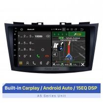 9-дюймовый сенсорный экран HD для 2012 Suzuki Swift Авторадио Bluetooth Автомобильное радио Автомобильная аудиосистема Поддержка управления рулевым колесом