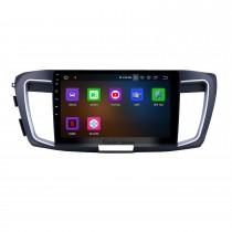 10,1-дюймовый 2013 Honda Accord 9 High version Android 11.0 GPS-навигация Радио Bluetooth HD Сенсорный экран Поддержка Carplay Mirror Link