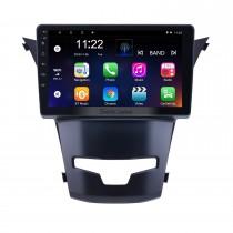OEM 9-дюймовый Android 10.0 на 2014 2015 2016 SsangYong Korando Radio Bluetooth HD с сенсорным экраном Поддержка GPS-навигации Carplay DAB + OBD2