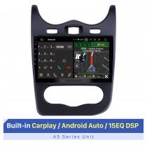 10,1-дюймовый сенсорный экран HD для 2014 RENAULT Sandero Autostereo Carplay Bluetooth Поддержка 3G 4G Wifi OBD2