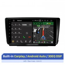 9-дюймовый автомобильный радиоприемник для 2014 SKODA OCTAVIA с Carplay / Andriod Auto RDS DSP Поддержка сенсорного экрана GPS-навигация AHD камера