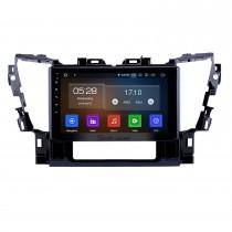 10,1-дюймовый Android 10.0 GPS-навигация Радио для 2015 2016 Toyota Alphard Bluetooth Wifi HD с сенсорным экраном Поддержка Carplay DAB + Управление рулевого колеса