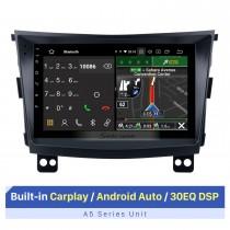 9-дюймовый сенсорный экран HD для 2015 Ssang Yong Tivolan Radio, Bluetooth, автомобильное радио, автомобильное радио, ремонт, встроенный 30 EQ DSP