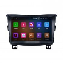 Сенсорный экран Android 11.0 HD 9 дюймов 2015 SSANG YONG Tivolan Radio GPS-навигационная система с поддержкой Bluetooth Carplay