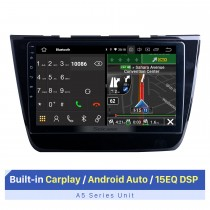 10,1-дюймовый сенсорный экран HD для 2017-2020 MG ZS Stereo Bluetooth Car Radio Stereo Player Поддержка 2.5D IPS Touch Screen