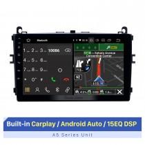9-дюймовый сенсорный экран HD для 2017 Baic E Series E130 E150 EV160 EV200 EV Авторадио Carplay Стереосистема Поддержка FM AM RDS Радио