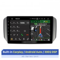 10,1-дюймовый сенсорный экран для автомобильной аудиосистемы CHANGAN SHENQI F30 2017 с RDS DSP Carplay Поддержка GPS-навигации Bluetooth AHD камера