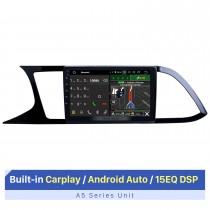 9-дюймовый сенсорный экран HD для 2018 Seat Leon автостерео автомобильный радиоприемник стерео плеер Sat Navi поддержка AHD камера