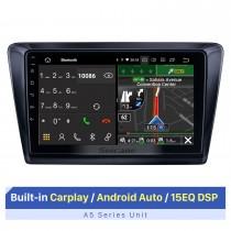 9-дюймовый сенсорный экран HD для 2018 Skoda Spaceback Rapid мультимедийный плеер автомобильный радиоприемник стерео плеер Поддержка разделенного экрана