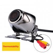 Регулируемая рыба-рот, как 170 градусов Широкий угол обзора Автомобильная камера заднего вида Водонепроницаемый CCD Обратный датчик Система помощи при парковке