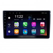 9-дюймовый Android 10.0 для 2002 2003 2004-2008 Audi Audi Radio с HD сенсорным экраном GPS-навигация Поддержка Bluetooth Carplay DAB + TPMS
