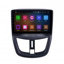 Android 11.0 для 2008-2012 2013 2014 Peugeot 207 Radio 9-дюймовый GPS-навигатор с сенсорным экраном HD Carplay Поддержка Bluetooth Цифровое ТВ