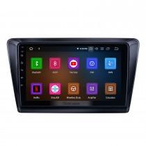 HD сенсорный экран 9 дюймов Android 11.0 для 2017 Skoda Rapid Radio GPS навигационная система Bluetooth Carplay Поддержка резервной камеры