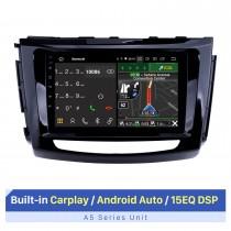 9-дюймовый сенсорный экран HD для Great Wall Wingle 6 с правым рулем головного устройства Автомобильная GPS-навигация Стерео Android Авто Поддержка разделенного экрана