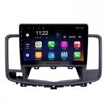 2009-2013 Nissan Old Teana Android 10.0 с сенсорным экраном 10,1-дюймовое головное устройство Bluetooth GPS-радио с поддержкой AUX WIFI OBD2 DVR SWC Carplay