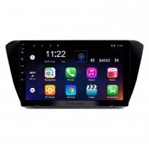 10,1-дюймовый Android 10.0 GPS-навигатор для 2015-2018 Skoda Superb с сенсорным экраном HD Bluetooth USB AUX с поддержкой Carplay TPMS