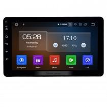 8-дюймовый Android 10.0 Универсальный Радио Bluetooth HD Сенсорный экран GPS-навигатор Carplay USB AUX с поддержкой 4G WIFI Камера заднего вида OBD2 TPMS DAB + DVR